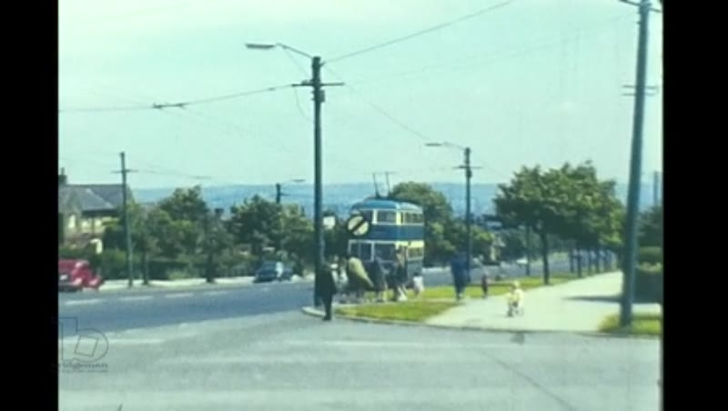 Trolleybuses Maidstone Tours Cardiff Teesside Bradford, 1970