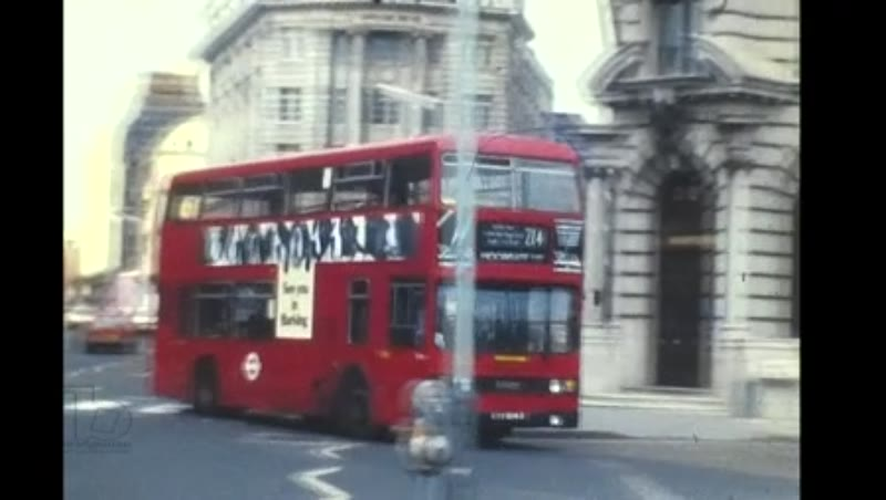 London Transport Central London March to June, 1987