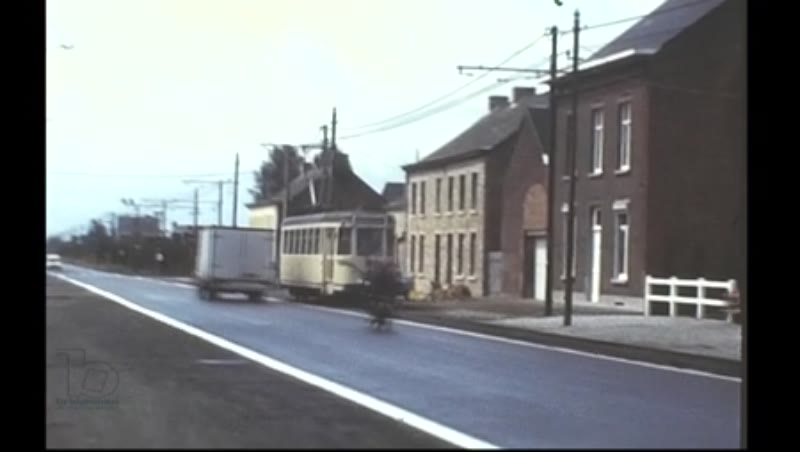 Trams in Belgium, Charleroi Brussels, 1979 and 1982