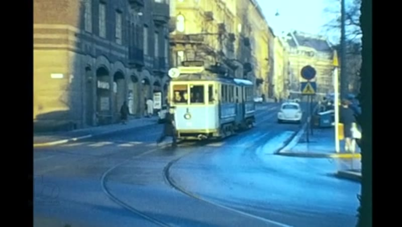 Trams and Trolleybuses 1963-72 Helsinki Oslo Gothenburg Stockholm Some 60S By M Martin and Swedish Tram Society