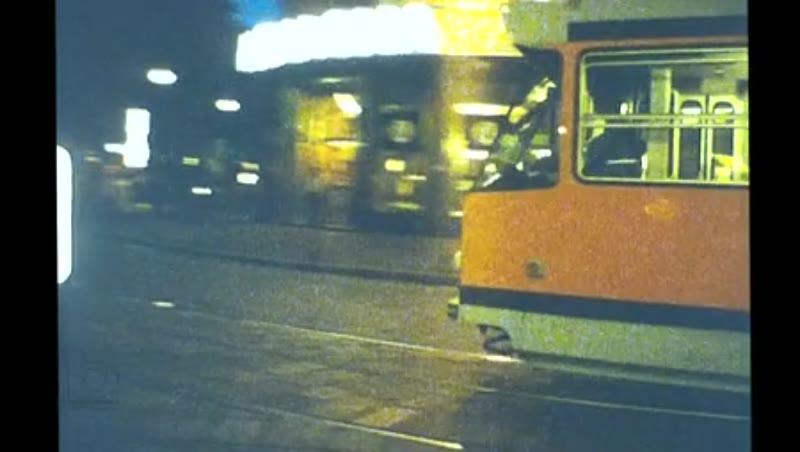 Coll Trams, Milan, Italy, 1982