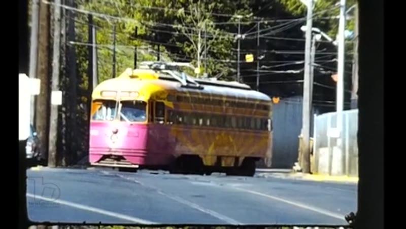 Coll Trams Usa Pittsburgh 1981