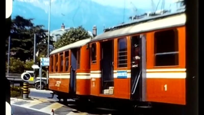 Jf Bromley Coll Swiss Trams 1956 - 1962 Std 8 Unedited