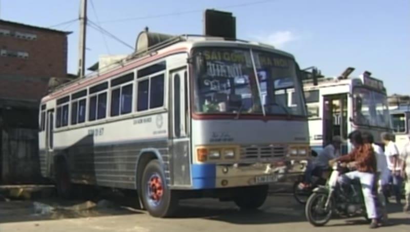 Vietnam Bus Truck Social Scenic Hcmc, December 1997