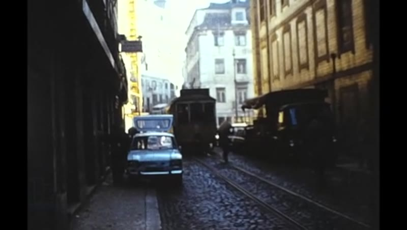 Lisbon Trams and Wmpte Buses  1975 also Holyoake Lisbon Film, Undated