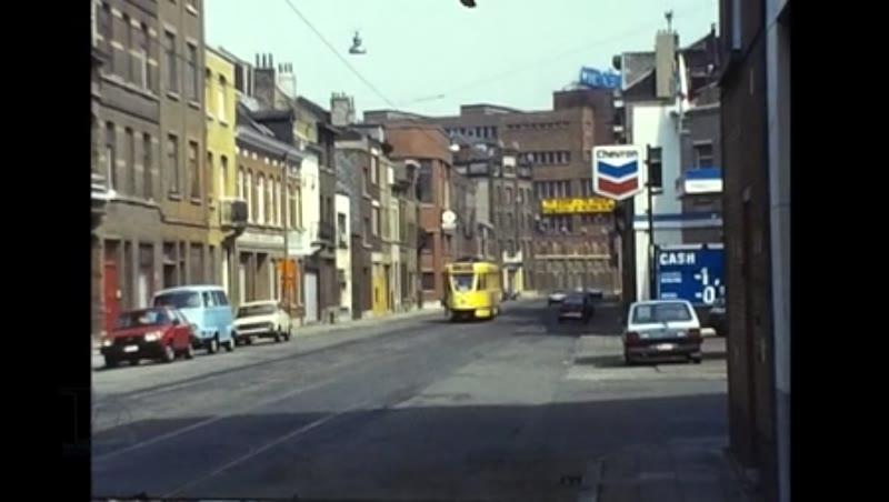 Charleroi Coastal trams, 1983