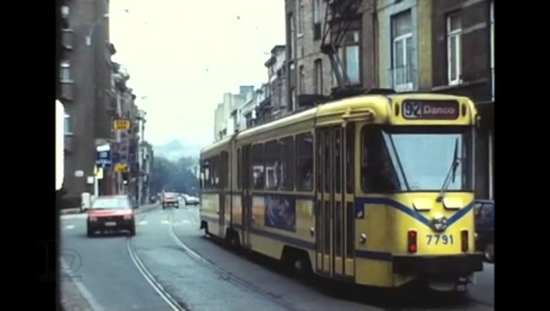 Brussels Stib Sncv Charleroi, 1987