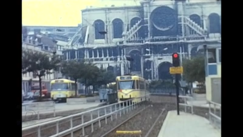 Brussels Trams, Rtes 62 Sncv G W Ghent Mivg,  1974