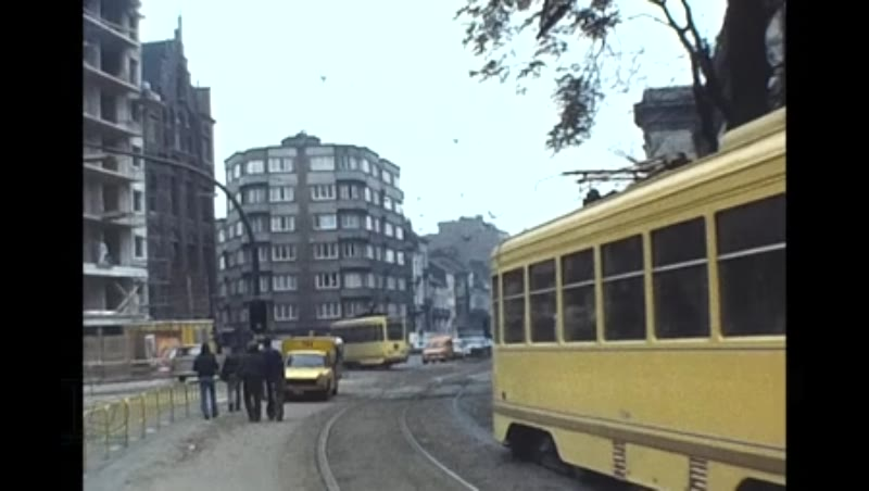 Brussels Trams, Stib, 1975