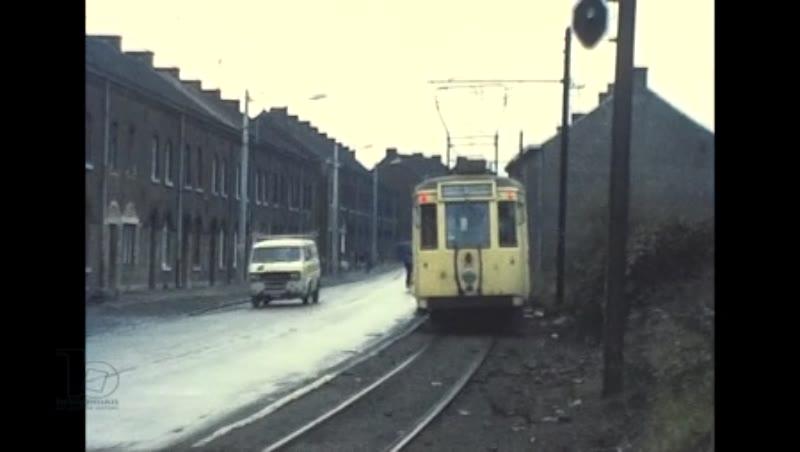Brussels Stib Tram Charleroi Sncv Tram ,1976
