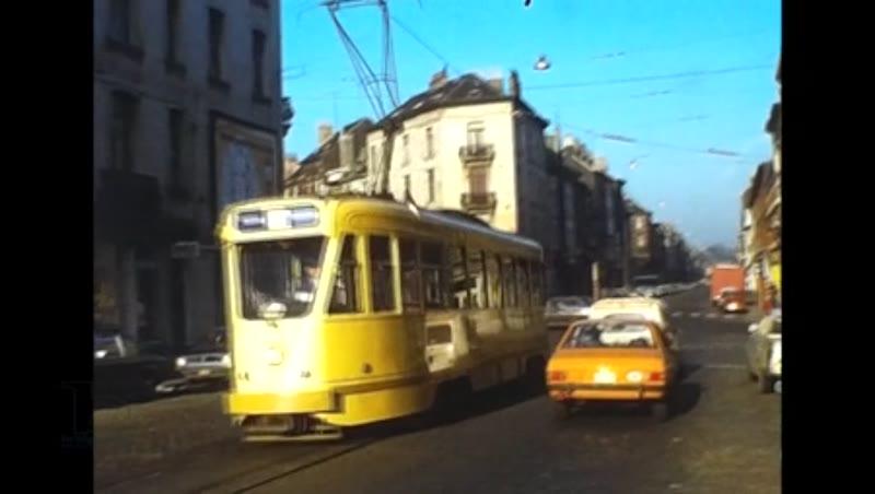 Brussels Stib Tram Charleroi Sncv Tram, 1976