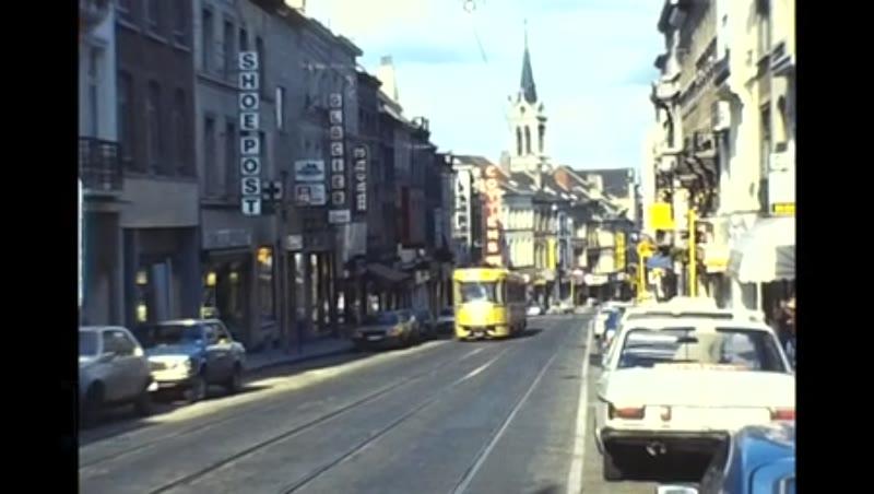 Stib Trams Tyne and Wear Metro, Brussels 1981