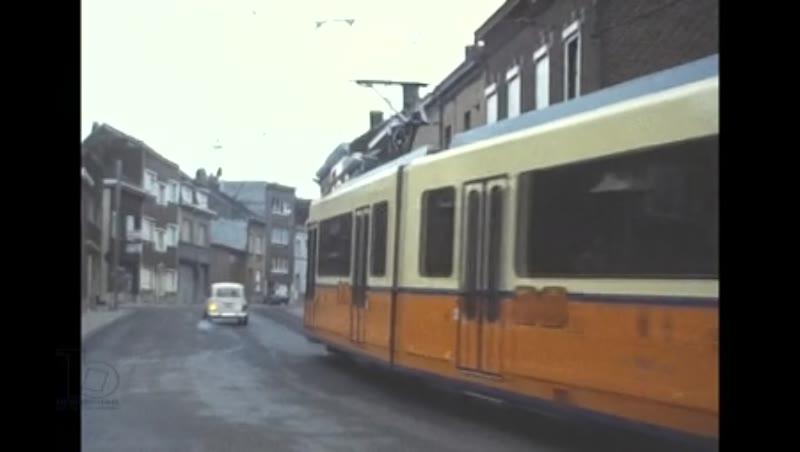 Brussels Charleroi Trams, 1982