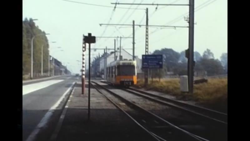 Stib Trams Rte18 32 Sncv Charleroi, Brussels 1981