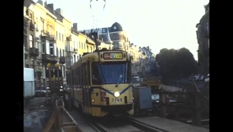 Brussels Stib Ghent Rte110 Trams, 1985