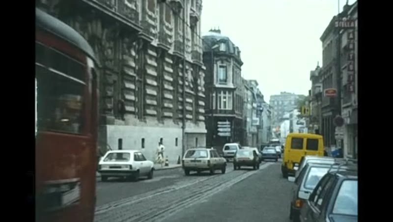 Brussels Stib Ghent Rte1 Lille Trams, 1985