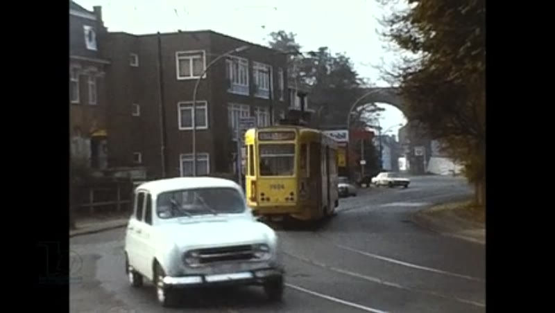 Brussels Trams, Routes 52 58 18 ,1979