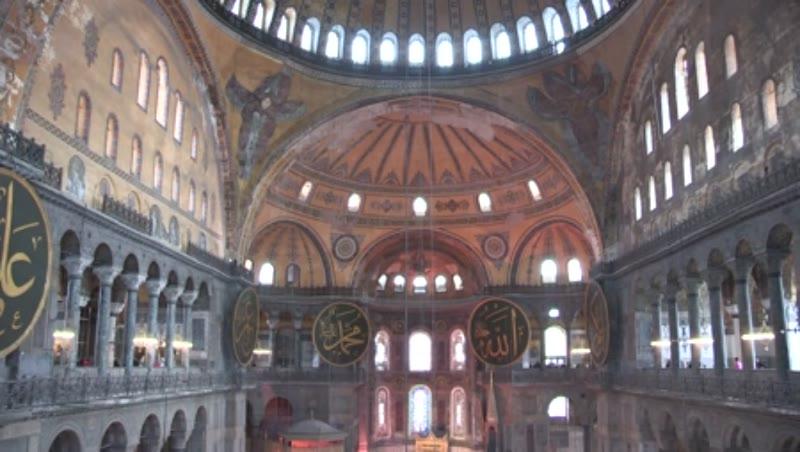 Hagia Sophia, Aya Sofya, Ayasofya, St. Sophia, Church of Holy Wisdom, Nave