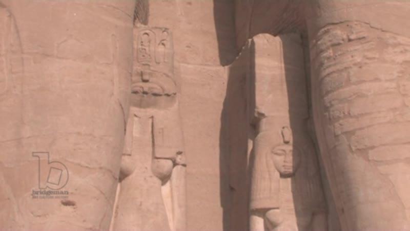 Exterior, Temple of Abu Simbel, Egypt 14