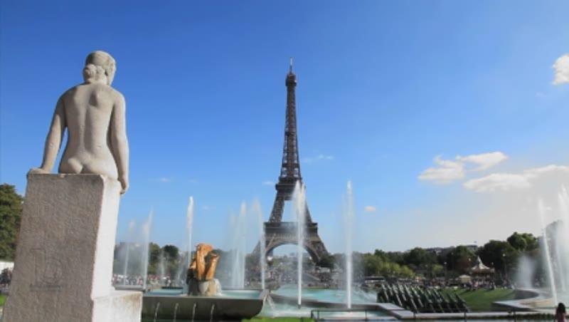 Paris Trocadero Gardens