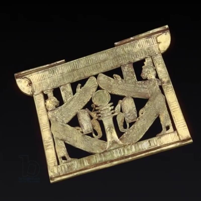 Tutankhamun inlaid pectoral