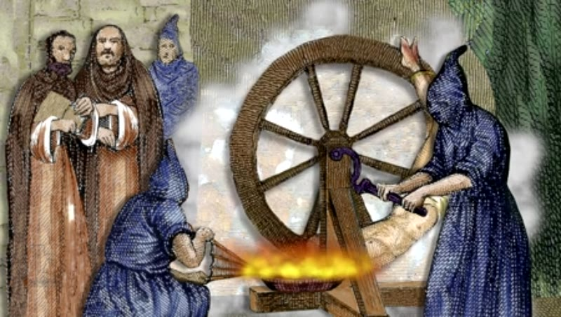Wheel of fortune, an instrument of torture