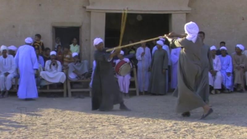Traditional dance - Tahtib