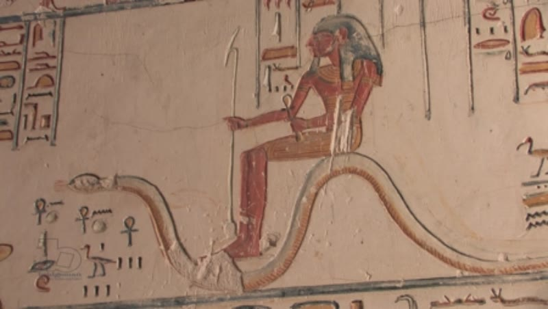 Paintings in the Tomb of Ramses V-VI