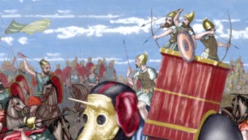 Second Punic War. The Battle of Zama (202 B.C.)