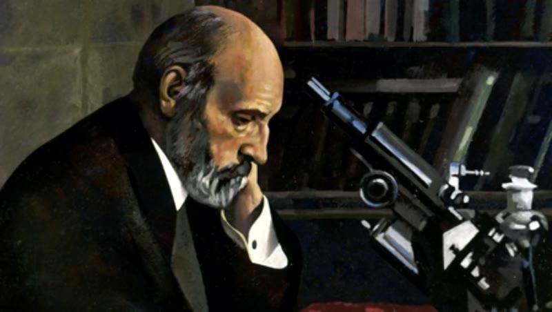 Santiago Ramón y Cajal  (1852-1934). Pathologist.