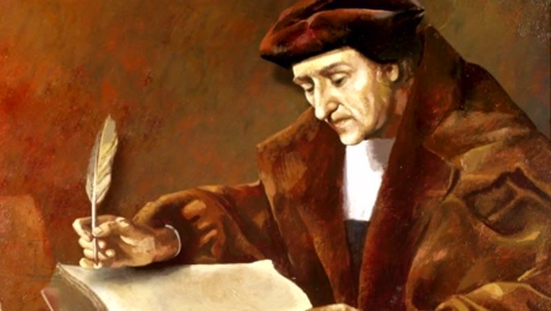 Desiderius Erasmus Roterodamus  (1466/1469-1536)