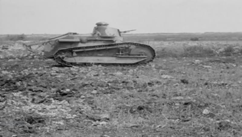 Tank Activities A.E.F. 2/3