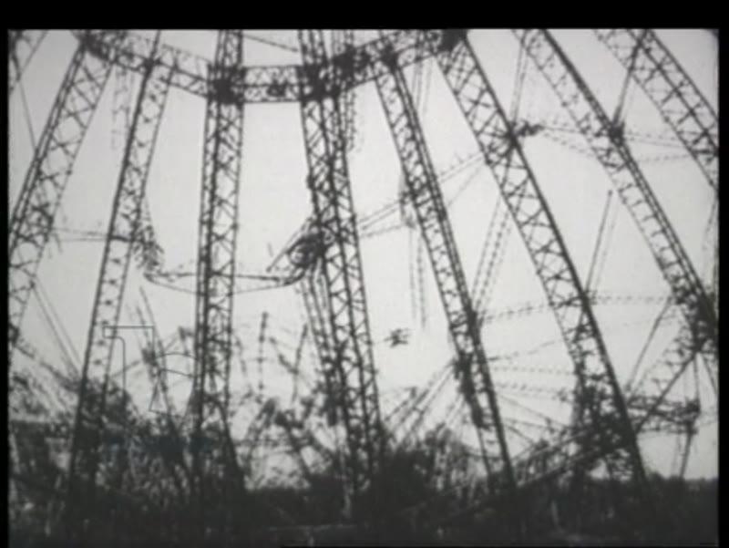 Crashed airship, Woodrow Wilson, WWI