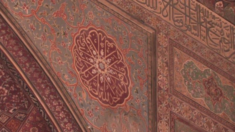 Wazir Khan Mosque - Inside