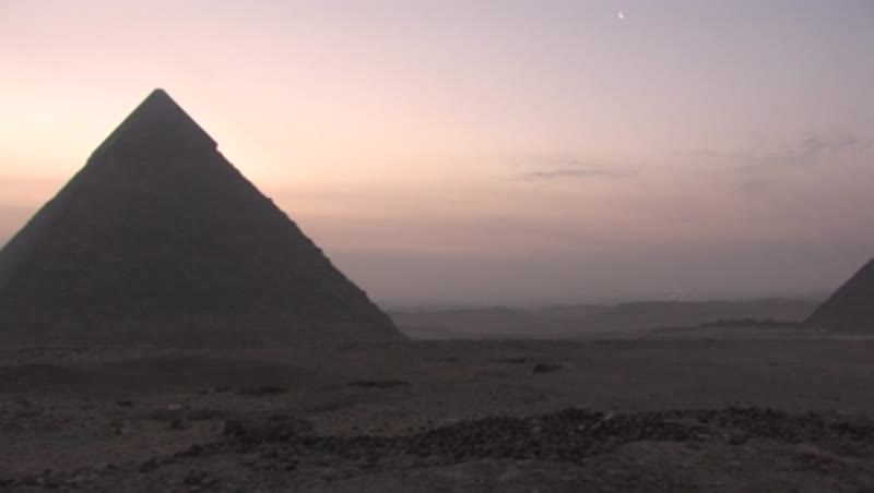 Early morning at Giza 1