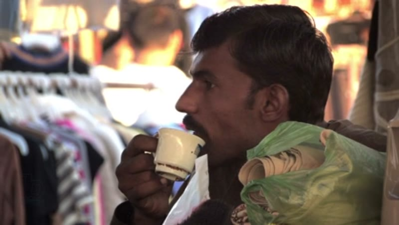 Food Stalls at Sunday Market, Karachi 1