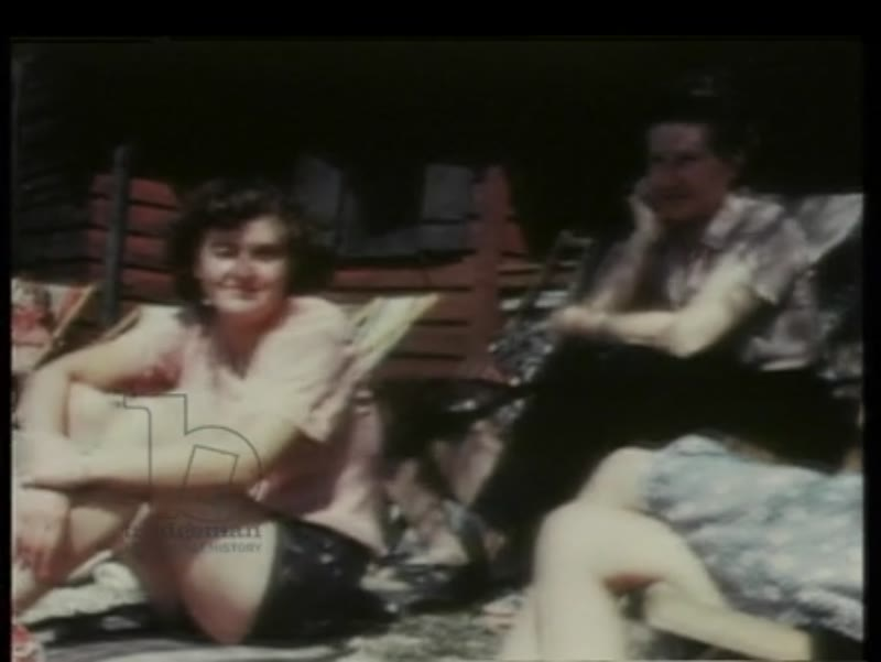 Eva Braun waterskiing in Wolfgangsee, at Aschauer Pond with Anni Brandt, on Lake Wörth and spending time at Berghof