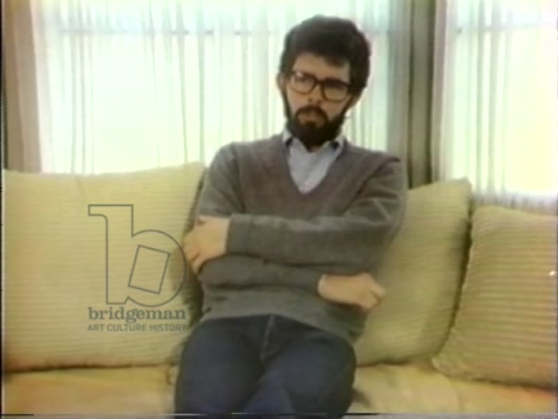 George Lucas and the American comic strip