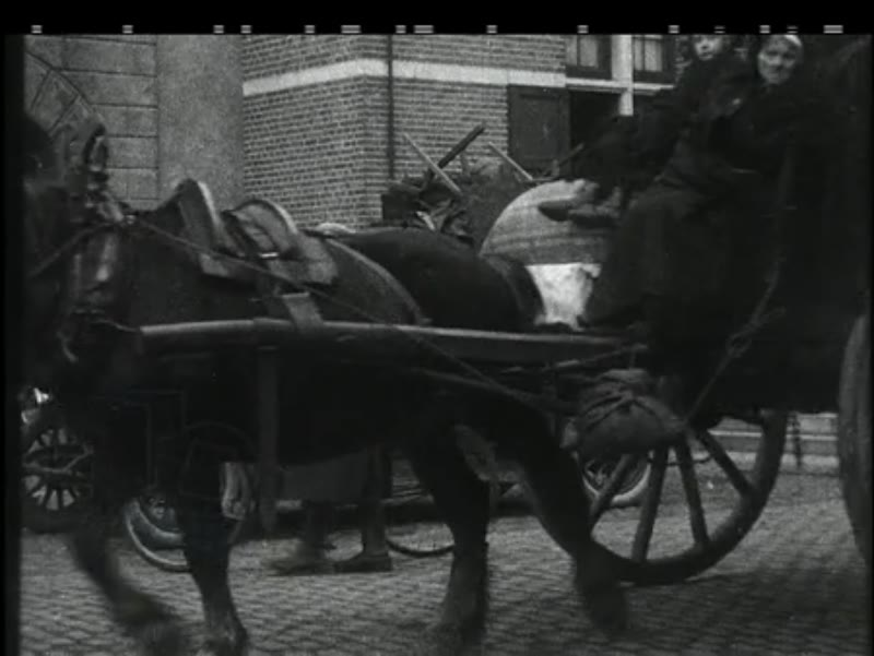 Refugees in North Brabant, 1914, WWI