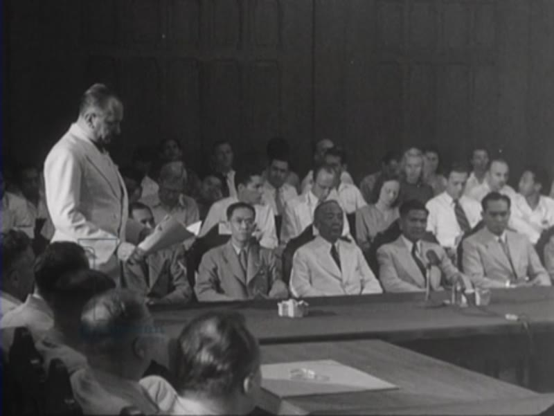 The installation of the Provisional Federal Council with seven Indonesian members early 1948 is an important step towards the formation of the planned interim government of the United States of Indonesia