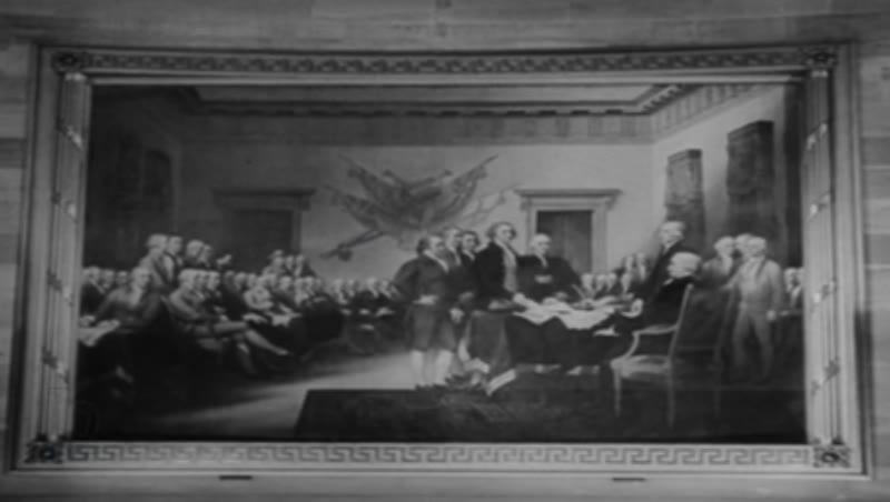 Children reciting Pledge of Allegiance, colonisation, the forming of the United States