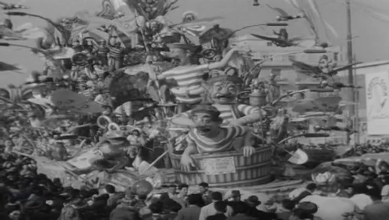 Carnival of Viareggio, Italy, 1949