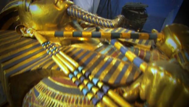 Second coffin of Tutankhamun 3