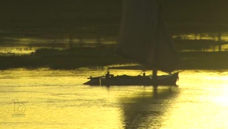 River Nile, Luxor, dusk 2