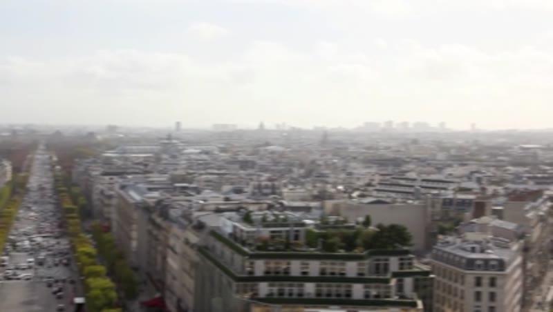 View of Paris from the Arc de Triumph 1
