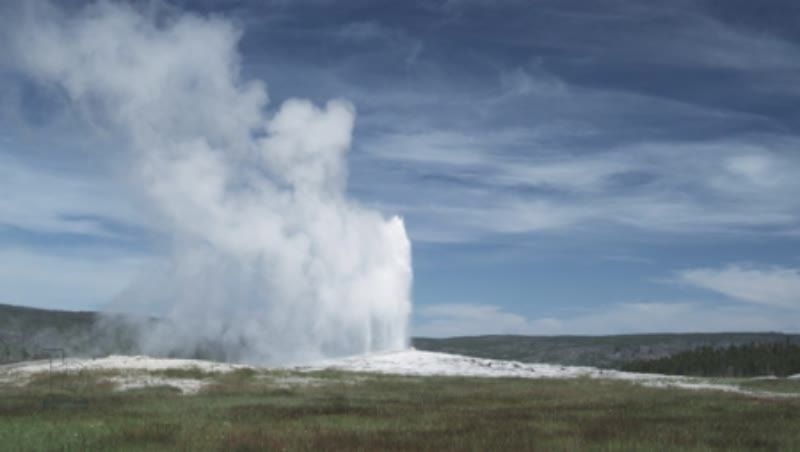 Erruption of Old Faithful Geyser 2