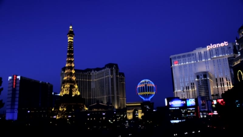 Eiffel Tower of Paris Hotel and Casino