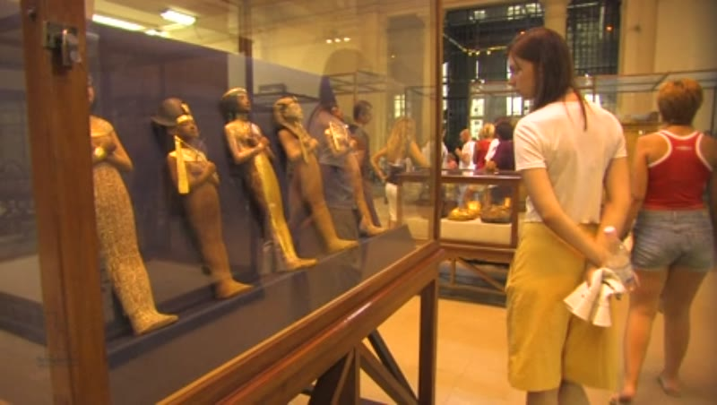 Inside the Egyptian Museum in Cairo 3