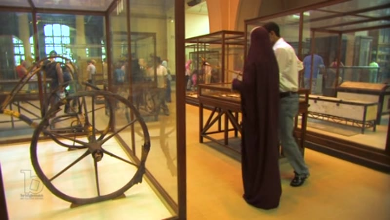 Inside the Egyptian Museum in Cairo 2