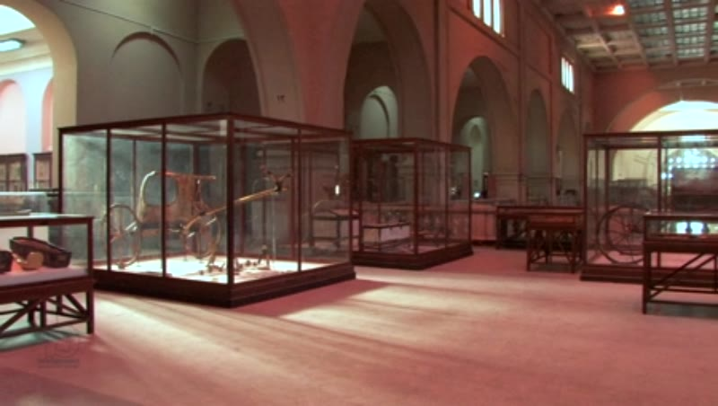 Inside the Egyptian Museum in Cairo 10